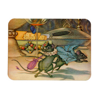 The Town Mouse and The Country Mouse Magnet