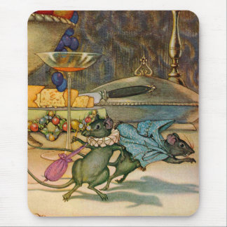 The Town Mouse and The Country Mouse Mouse Pad