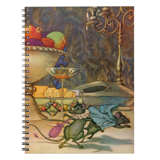 The Town Mouse and The Country Mouse Notebook