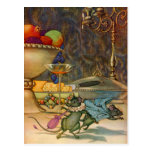 The Town Mouse and The Country Mouse Postcard