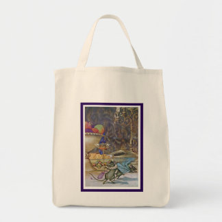 The Town Mouse and the County Mouse Tote Bag