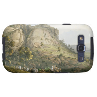 The Town of Abha in Abyssinia, engraved by J. Bluc Galaxy S3 Cases