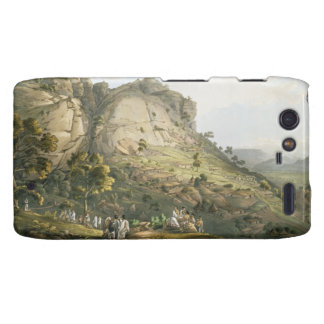 The Town of Abha in Abyssinia, engraved by J. Bluc Motorola Droid RAZR Cases