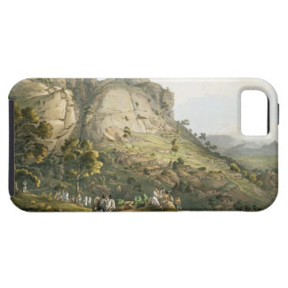 The Town of Abha in Abyssinia, engraved by J. Bluc iPhone 5 Cases