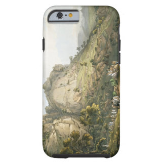 The Town of Abha in Abyssinia, engraved by J. Bluc Tough iPhone 6 Case