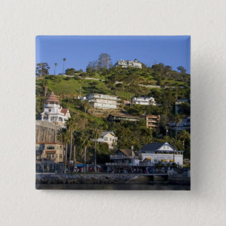 The town of Avalon on Catalina Island, Pinback Button