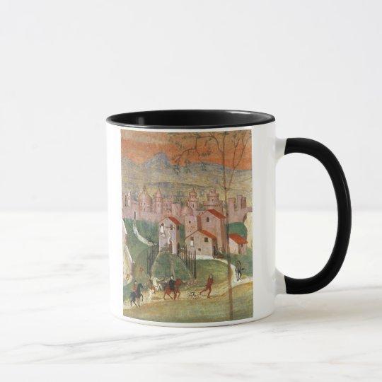The Town of Prato (fresco) Mug