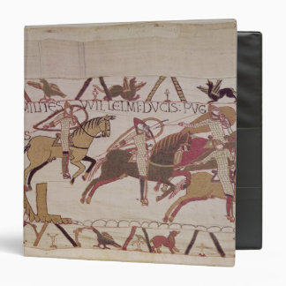 The Town of Rennes and Duke William's soldiers Vinyl Binder