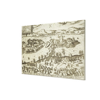 The Town of Tokay Recovered from the Turks by Herr Canvas Print