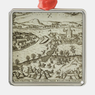 The Town of Tokay Recovered from the Turks by Herr Metal Ornament