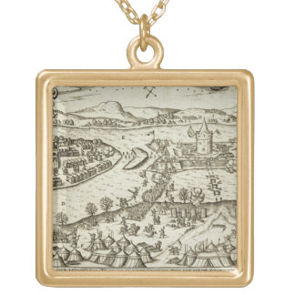 The Town of Tokay Recovered from the Turks by Herr Custom Necklace