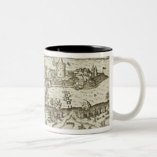 The Town of Tokay Recovered from the Turks by Herr Two-Tone Coffee Mug