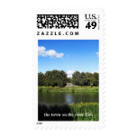 the town on the river Uzh Postage Stamps