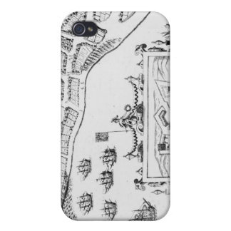 The Towne and Platforme of Fayall iPhone 4 Cover