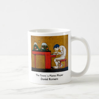 The Towns Piano Player Coffee Mug