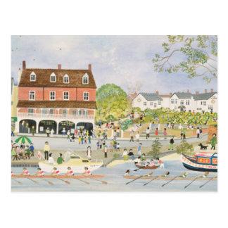 The Towpath Walton-on-Thames Postcard