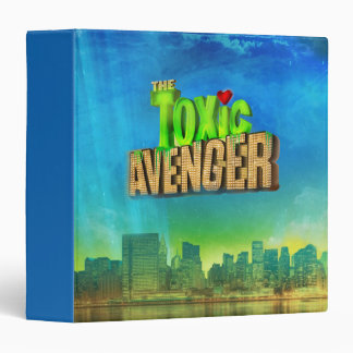 The Toxic Avenger 3 Ring Binder