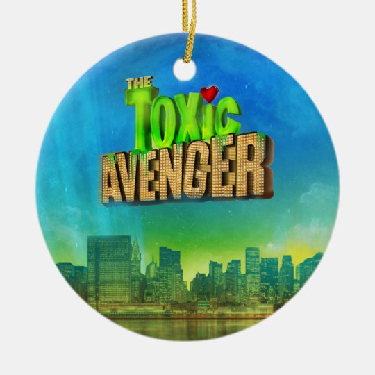 The Toxic Avenger Ceramic Ornament