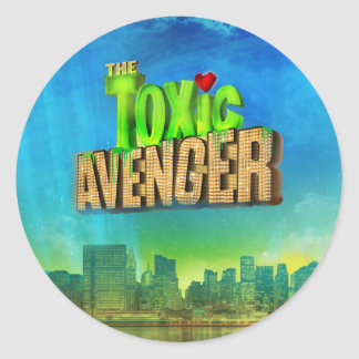The Toxic Avenger Classic Round Sticker