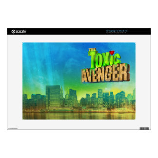 "The Toxic Avenger Decals For 15"" Laptops"