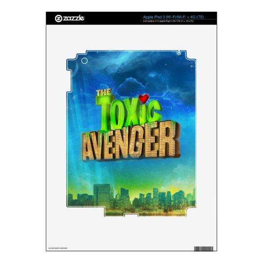 The Toxic Avenger iPad 3 Skins