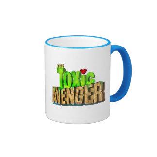 The Toxic Avenger Ringer Coffee Mug