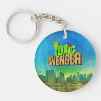 The Toxic Avenger Single-Sided Round Acrylic Keychain
