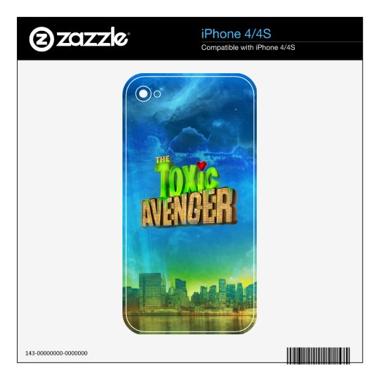 The Toxic Avenger Skin For iPhone 4