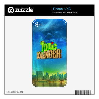 The Toxic Avenger Skin For iPhone 4S