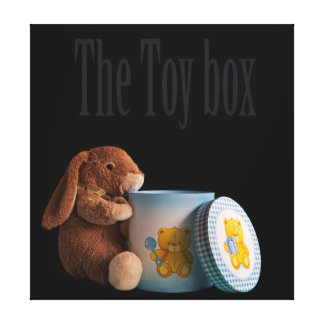 The toy box canvas print