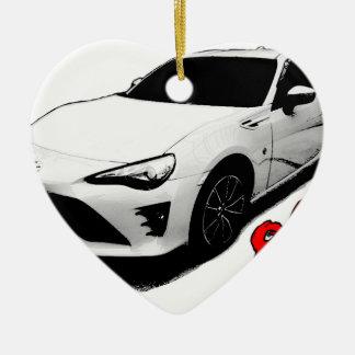 The Toyota 86 goods Ceramic Ornament