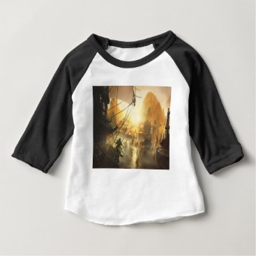 Beach Themed The Traders Port Baby T-Shirt