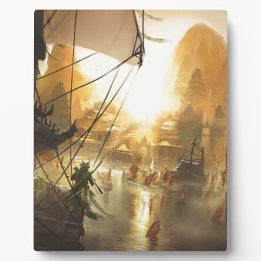 Beach Themed The Traders Port Plaque