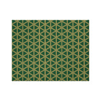 The traditional pattern group tortoise shell (Bish Canvas Print
