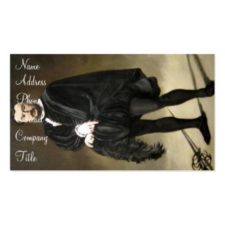 'The Tragic Actor' Double-Sided Standard Business Cards (Pack Of 100)