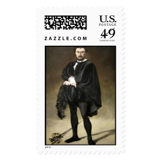 'The Tragic Actor' Stamps