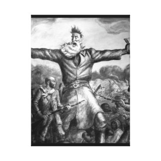 The Tragic Prelude_War Image Canvas Print