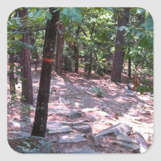 The Trail to Robber's Cave Sticker