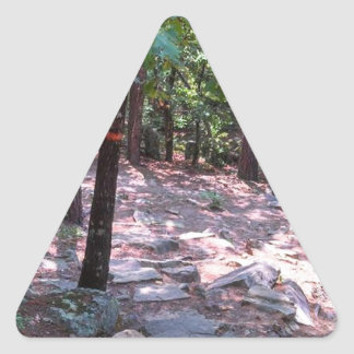 The Trail to Robber's Cave Triangle Sticker