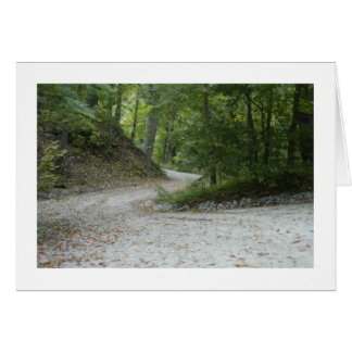 The Trails At Schenley Park Stationery Note Card