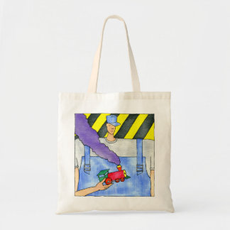The Train Engineer Tote Bag