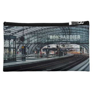 The train is coming cosmetic bag