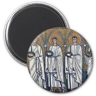 The Train Of The Holy Martyrs By Meister Von San A Magnet