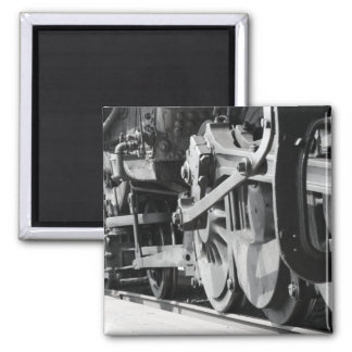 The Train Series 2 Inch Square Magnet