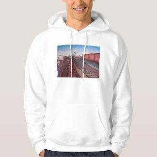 The Train Tracks To the Bronx Hoodie