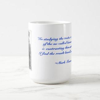 The traits of animals... coffee mug