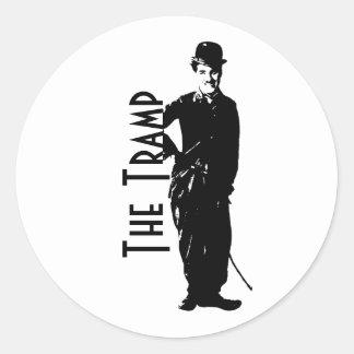 The Tramp Classic Round Sticker