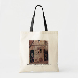 The Tramp Tondo Detail By Hieronymus Bosch Canvas Bag