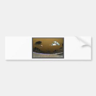 The Trance Kiteboard Bumper Sticker