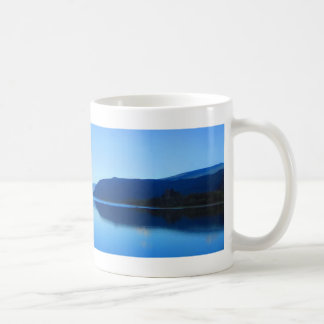 The Tranquil Columbia. White Coffe Mug